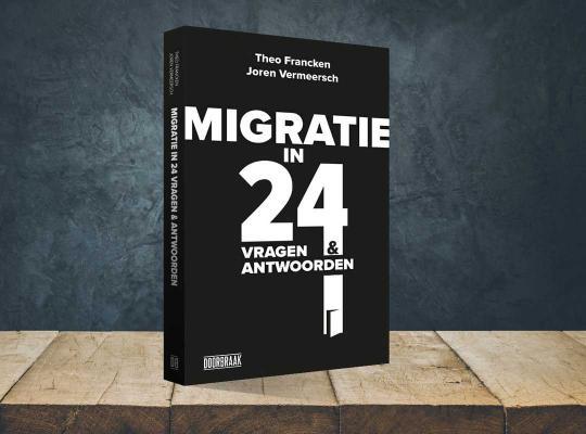 Boek Theo Francken: 'Migratie in 24 vragen en antwoorden'