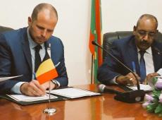 Theo Francken tekent migratie-akkoord in Anoukchott, de hoofdstad van Mauritanië