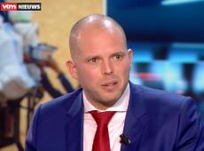 Theo Francken in het VTM Nieuws