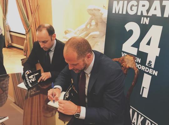 """Boekvoorstelling """"Migratie in 24 vragen en antwoorden"""""""