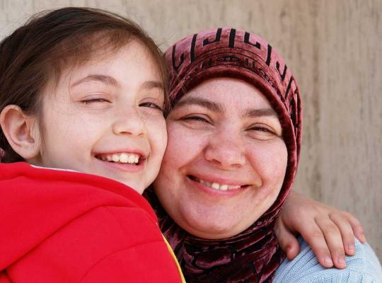 Moeder en dochter herenigd