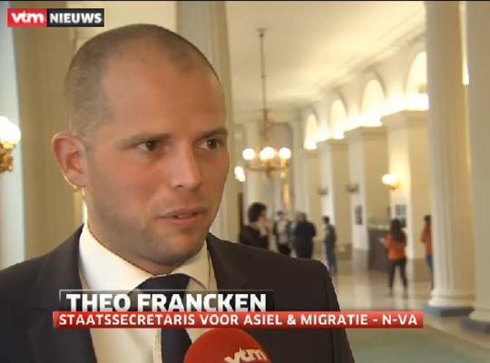 """Theo Francken: """"Al 11 Syriëstrijders land uitgezet dit jaar"""""""